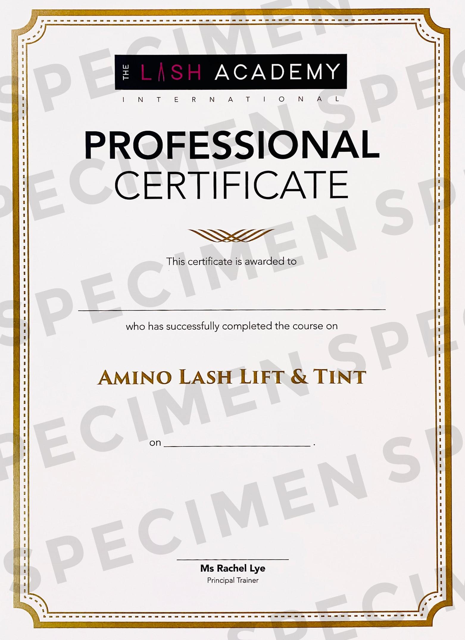 TLA Certificate FA path