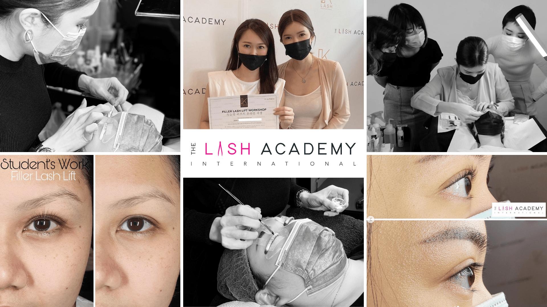 Lash lift workshop - The Lash Academy